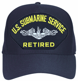 U.S. Submarine Service Retired Enlisted Ball Cap