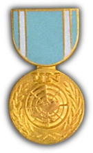 United Nations Observer Medal Hat Pin