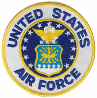 """United States Air Force Emblem 3"""" Patch"""