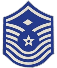 Air Force First Sergeant E-8 1 1/2 inch Pin