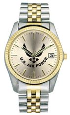 United States Air Force Ladies Two Tone Watch