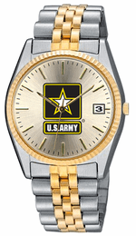 United States Army Ladies Two Tone Watch