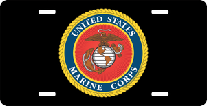 United States Marine Corps Military License Plate