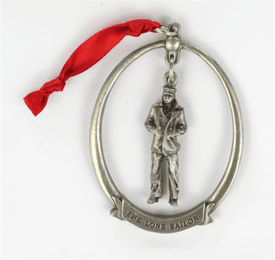 United States Navy Lone Sailor Christmas Ornament