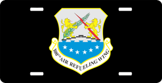 U.S. Air Force 100th Air refueling Wing License Plate