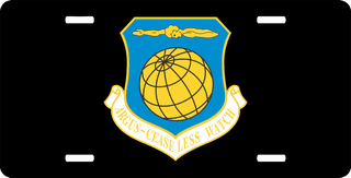 U.S. Air Force 10th Wing License Plate