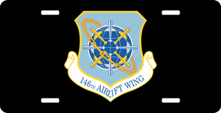 U.S. Air Force 146th Airlift Wing License Plate