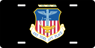 U.S. Air Force 16th Special Operations Wing License Plate
