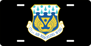 U.S. Air Force 171st Air Refueling Wing License Plate