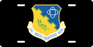 U.S. Air Force 193rd Special Operations Wing License Plate