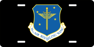 U.S. Air Force 19th Air Refueling Wing License Plate