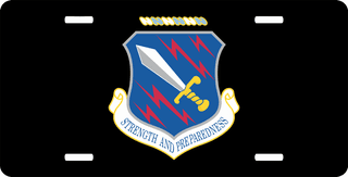 U.S. Air Force 21st Space Wing License Plate