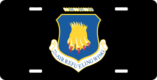 U.S. Air Force 22nd Air Refueling Wing License Plate