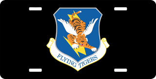 U.S. Air Force 23rd Wing License Plate