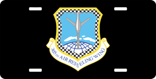 U.S. Air Force 305th Air Refueling Wing License Plate