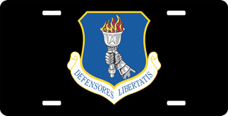 U.S. Air Force 319th Air Refueling Wing License Plate