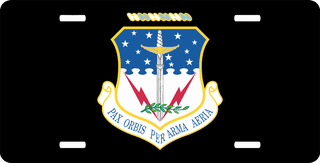 U.S. Air Force 341st Missile Wing License Plate