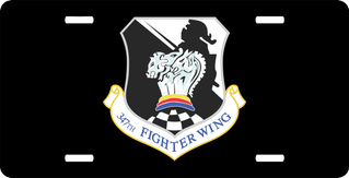 U.S. Air Force 347th Wing License Plate