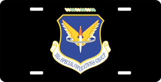 U.S. Air Force 352nd Special Operations Group License Plate