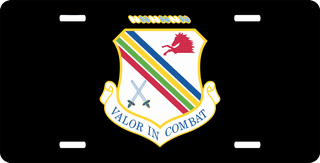 U.S. Air Force 354th Fighter Wing License Plate