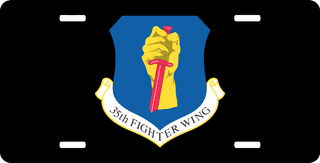 U.S. Air Force 35th Fighter Wing License Plate