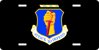 U.S. Air Force 35th Wing License Plate