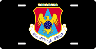 U.S. Air Force 375th Medical Group License Plate