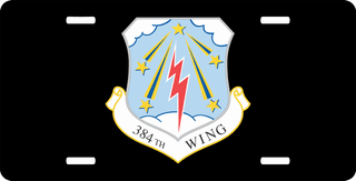 U.S. Air Force 384th Wing License Plate