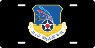 U.S. Air Force 434th Air Refueling Wing License Plate