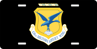 U.S. Air Force 436th Airlift Wing License Plate