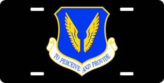 U.S. Air Force 480th Intelligence Group License Plate