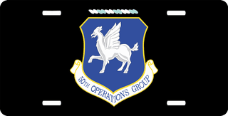 U.S. Air Force 50th Operations Group License Plate