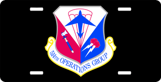U.S. Air Force 514th Operations Group License Plate