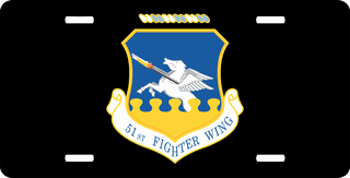U.S. Air Force 51st Fighter Wing License Plate