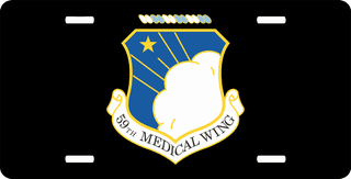 U.S. Air Force 59th Medical Wing License Plate