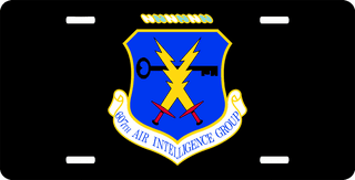 U.S. Air Force 607th Air Intelligence Group License Plate
