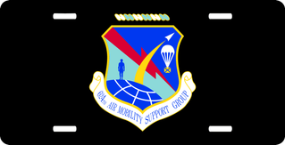 U.S. Air Force 624th Air Mobility Support Group License Plate