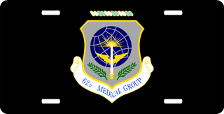 U.S. Air Force 62nd Medical Group License Plate