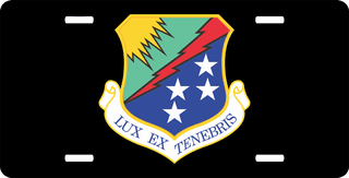 U.S. Air Force 67th Intelligence Wing License Plate