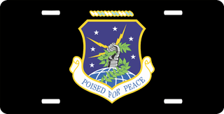 U.S. Air Force 91st Missile Group License Plate
