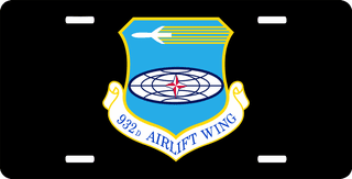 U.S. Air Force 932nd Airlift Wing License Plate