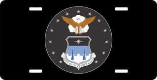 U.S. Air Force Academy Circle License Plate