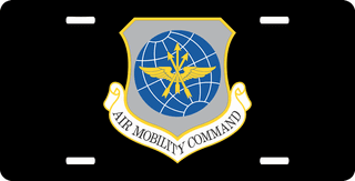 U.S. Air Force Air Mobility Command License Plate