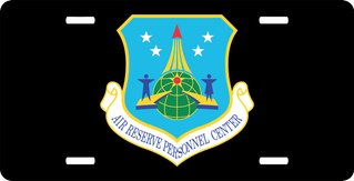 U.S. Air Force Air Reserve Personnel Center License Plate