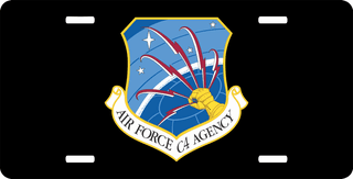 U.S. Air Force C4 Command License Plate