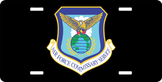 U.S. Air Force Commissary License Plate