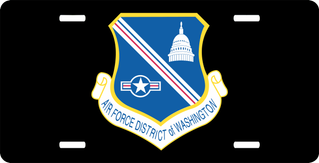 U.S. Air Force District Of Columbia License Plate