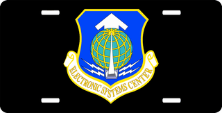 U.S. Air Force Electronic Systems Center License Plate