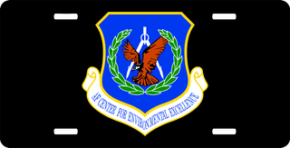 U.S. Air Force Environmental Excellence Center License Plate