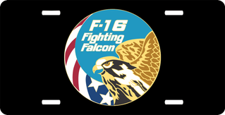 U.S. Air Force F-16 Fighting Falcon License Plate